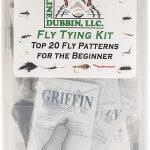 Hareline Fly Tying Material Kit with Premium Tools and Vise